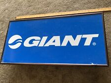 """Vintage Giant Bicycles Authroized Dealer Lighted Sign 14""""×29"""""""