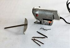 Vintage Power House Scroll Jig Saw by Mcgraw Edison Co. Model 1158, Guide Blades