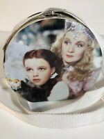 Wizard of Oz Dorothy, Toto, and Glinda Decorated Tin Purse with Strap from 1999