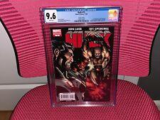 Hulk #15 CGC 9.6 White Pages 1st Red She-Hulk X-Force Elektra Punisher Deadpool
