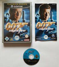 James Bond 007: NightFire (Nintendo GameCube, 2002, DVD-Box)