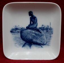 "Royal Copenhagen china Giftware plaquette Little Mermaid 3-1/4"""