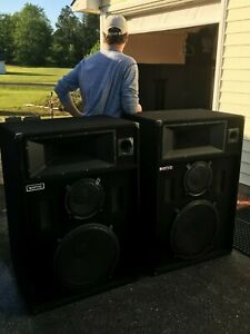 Sonic 1810HT PA Speakers