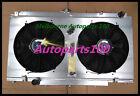 Alloy Radiator&Shroud&Fans NISSAN PATROL GU Y61 2.8L 3.0L RD28 ZD30 CR 99-13 MT