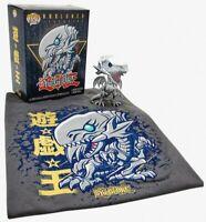 Yu-Gi-Oh Metallic Blue Eyes White Dragon Funko Pop Vinyl +T-shirt New Sealed Box