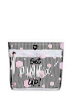 Victoria's Secret Pink Beauty Bag Black/Pink