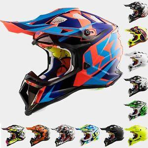 LS2 MX470 Subverter Motocross Motorcycle MX Off Road Helmet Quad ATV Enduro