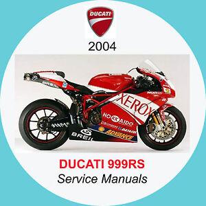999 Ducati Motorcycle Repair Manuals Literature For Sale Ebay