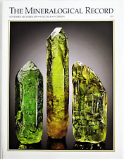 FAMOUS MINERAL DEALERS-UKRAINE THE MINERALOGICAL RECORD NOV DEC 2009 VO 40 NO 6