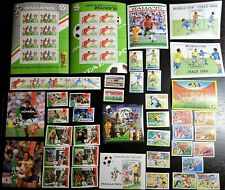 Collection, 1990 World Cup, soccer, football, MNH (520)