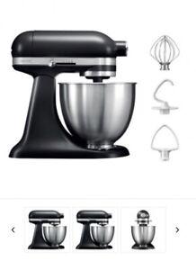 KitchenAid 5KSM3311XBBM 10 Speed 250W 3.3L Mini Food Stand Mixer - Black