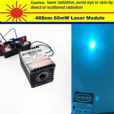 488nm 60mW Green Laser Module for Stage Light/Lab/Light Source/12V/TTL
