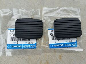 Mazda 1000 ute 1200 1300 808 323 R100 RX3 RX5 pedal pads NEW