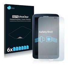 6x Displayschutzfolie für Samsung Galaxy Tab 3 (7.0) WiFi SM-T210 Klar
