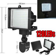 120LED Solar Powered Light Outdoor Garden Motion Sensor Security Floodlight Lamp