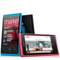 "Nokia Lumia 800 Unlocked 3G WIFI GPS 8MP Camera 16GB Storage 3.7"" Windows Phone"