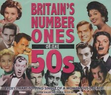 [BRAND NEW] 4CD: BRITAIN'S NUMBER ONES OF THE 50s: VARIOUS ARTISTS