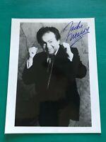 JACKIE MASON Autographed 8x10 Signed Photo Jewish Comic Commedy Central #63 Rank