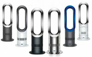 Dyson AM09 Hot + Cool Fan Heater with Remote Control, Factory Refurbished, Fast