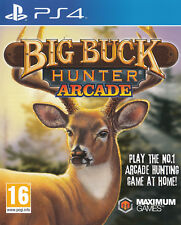 Big Buck Hunter Arcade PS4 Sony PlayStation 4 Brand New Factory Sealed