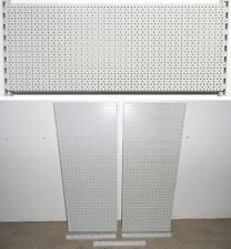 TEGOMETALL 2x LOCHWAND 100x40 cm 3x WANDSCHIENEN 40 cm SET LOCHWÄNDE WAND REGALE
