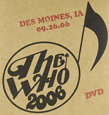 WHO-LIVE: DES MOINES IA 09/26/06 / (POST) DVD NEW