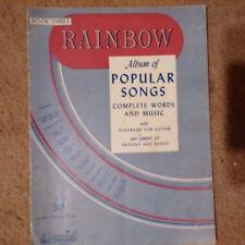 Rainbow Album of Popular Songs 1943