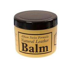 Albion Saddle & Bridle Swiss Formula Natural Protection Leather Balm Conditioner
