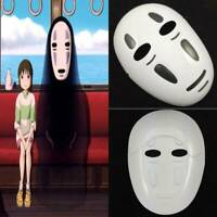 Anime Spirited Away No-Face Man Mask Cosplay Costume Halloween Party Props US