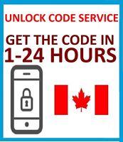 Unlock Code For Sony Xperia T J ZL TL E5 ion M4 AQUA BELL/VIRGIN