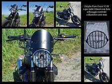 Griglia Faro Guzzi V7 II faro tondo diametro 200