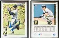 Orlando Merced Signed 1994 Collector's Choice #204 Card Pittsburgh Pirates Auto