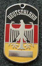 RUSSIAN DOG TAG PENDANT MEDAL    GERMAN EAGLE  #119S