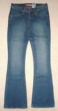 """Nuevas señoras Indigo Levi 518 Superlow Boot Cut Jeans Talla 8 Para """""""