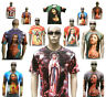 JESUS CHRIST AVE MARIA ENGEL Religion Tattoo Motiv Designer T-Shirt S M L XL XXL