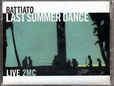 FRANCO BATTIATO - LAST SUMMER DANCE LIVE - 2 Musicassette  SIGILLATE