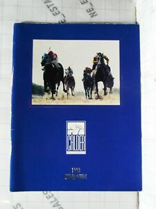 horse racing 1993 CALDER RACE TRACK Media Guide history Gulfstream Florida FL