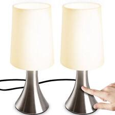 Tischleuchte Touchlampe Nachttischlampe Nachtlampe Schreibtischlampe 2er