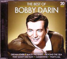 BOBBY DARIN Best of CD Classic 50s Rock Anthology MACK KNIFE DREAM LOVER SPLISH