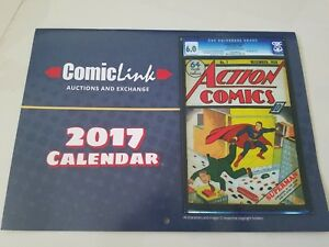 COMICLINK AUCTIONS & EXCHANGE 2017 CALENDAR FEATURING SLABBED GOLD & SILVER AGE