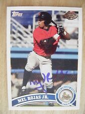 MEL ROJAS JR. signed PIRATES 2011 Topps Pro Debut baseball card AUTO Autographed