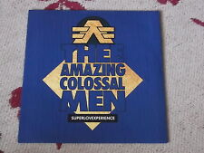 """Thee Amazing Colossal Men: Superlovexperience   NEW 7"""""""