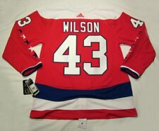 TOM WILSON size 46 Small  Washington Capitals ADIDAS alternate jersey PRO CUSTOM