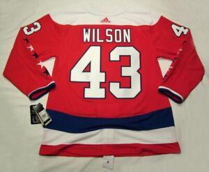 TOM WILSON size 56 = XXL  Washington Capitals ADIDAS alternate jersey PRO CUSTOM