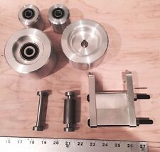 "Custom Listing Set,4"" Drive 5/8, 4"" Tracking, 2"" Idlers, 2 Small Wheels & holder"