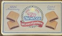 Vintage, Fig Newtons, Metal Tin, 100 Years of Goodness, Limited Edition, 1991