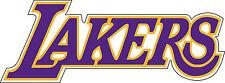 "Los Angeles Lakers NBA Basketball sticker decor, Large vinyl decal, 12.5""x 5"""