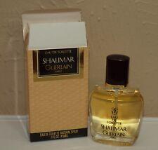 Guerlain SHALIMAR Eau de Toilette EDT Spray 1 oz 30 ml NEAR FULL w/ Box