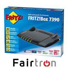 AVM Fritz!Box 7390 Schwarz VDSL DSL Modem Gigabit WLAN / DECT REPEATER