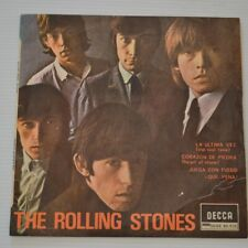 "Rolling Stones - The Last Time - 1965 España 7"" EP 4-TRACKS"